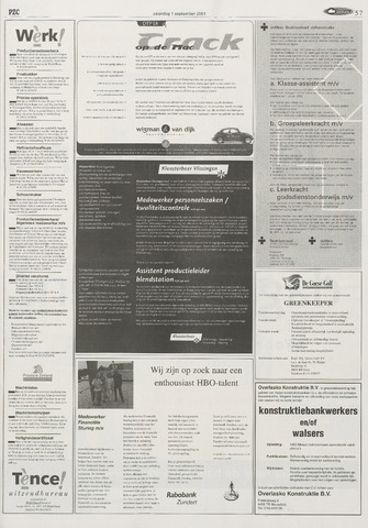 Provinciale Zeeuwse Courant | 1 september 2001 | pagina 57 ...