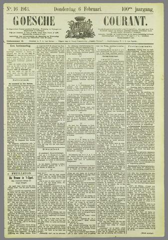 Goessche Courant 1913-02-06