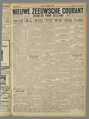 Nieuwe Zeeuwsche Courant 1922-03-10