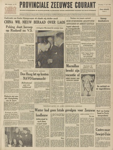 Provinciale Zeeuwse Courant 1963-04-17