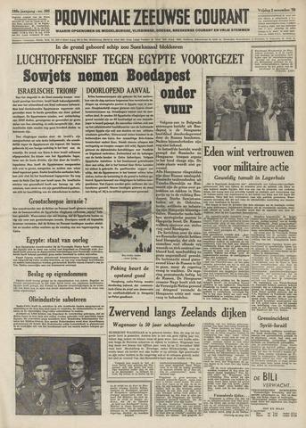 Provinciale Zeeuwse Courant 1956-11-02