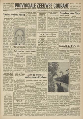 Provinciale Zeeuwse Courant 1947-11-04
