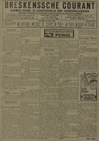 Breskensche Courant 1929-10-19