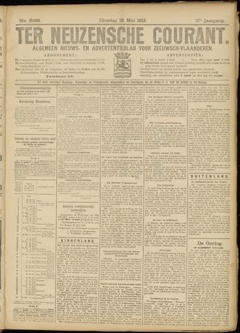 Ter Neuzensche Courant. Algemeen Nieuws- en Advertentieblad voor Zeeuwsch-Vlaanderen / Neuzensche Courant ... (idem) / (Algemeen) nieuws en advertentieblad voor Zeeuwsch-Vlaanderen 1918-05-28
