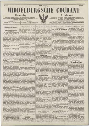 Middelburgsche Courant 1901-02-07