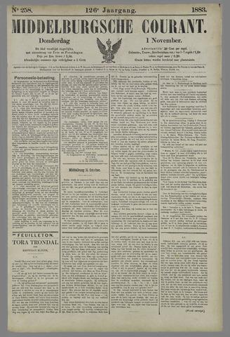 Middelburgsche Courant 1883-11-01