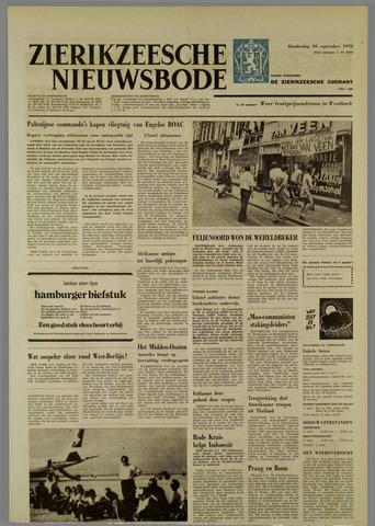 Zierikzeesche Nieuwsbode 1970-09-10