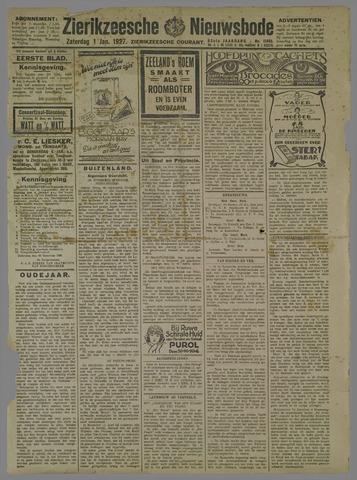 Zierikzeesche Nieuwsbode 1927