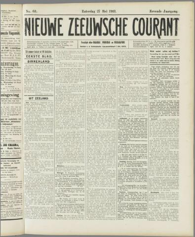 Nieuwe Zeeuwsche Courant 1911-05-27