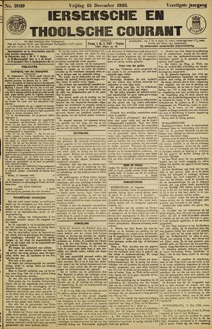 Ierseksche en Thoolsche Courant 1923-12-15