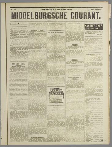 Middelburgsche Courant 1925-11-05