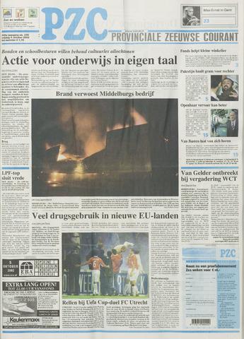 Provinciale Zeeuwse Courant 2002-10-04