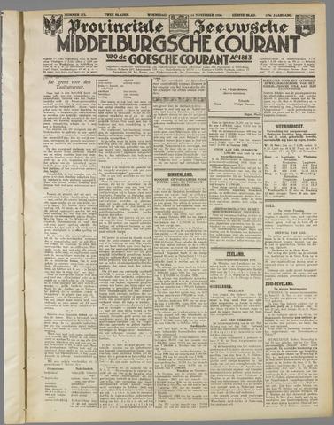 Middelburgsche Courant 1936-11-18