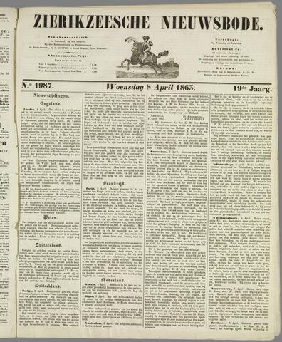 Zierikzeesche Nieuwsbode 1863-04-08