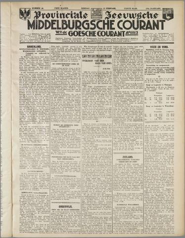 Middelburgsche Courant 1934-02-27