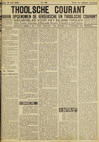 Ierseksche en Thoolsche Courant 1935-07-19