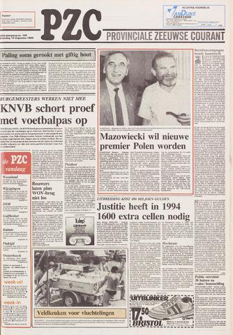 Provinciale Zeeuwse Courant 1989-08-19