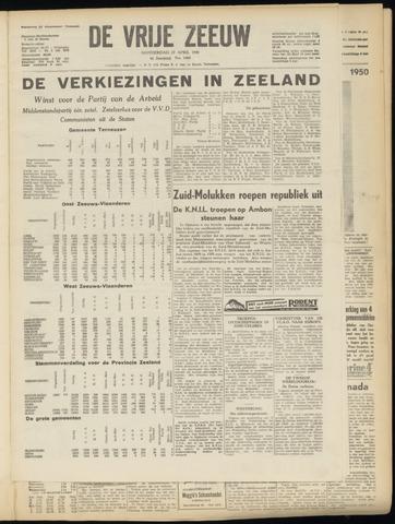 de Vrije Zeeuw 1950-04-27