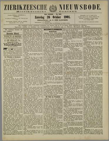 Zierikzeesche Nieuwsbode 1901-10-26