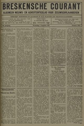 Breskensche Courant 1921-08-03