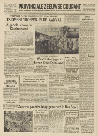 Provinciale Zeeuwse Courant 1961-09-15