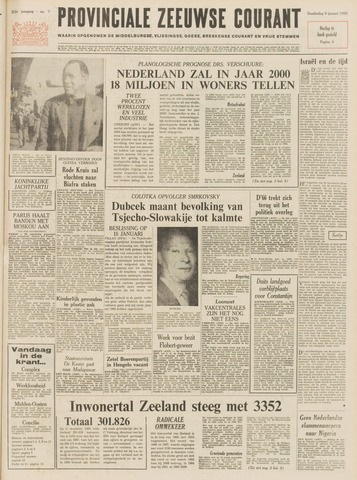 Provinciale Zeeuwse Courant 1969-01-09