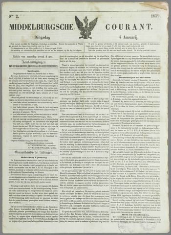 Middelburgsche Courant 1859-01-04