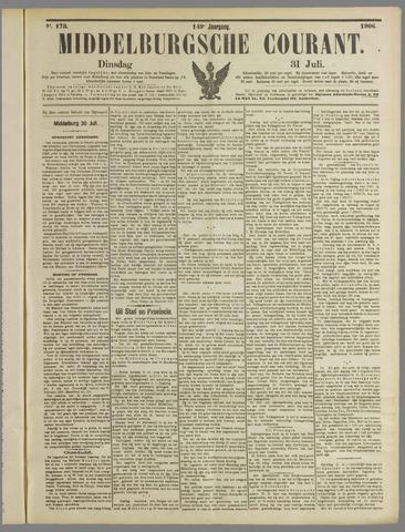 Middelburgsche Courant 1906-07-31