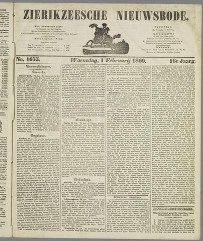 Zierikzeesche Nieuwsbode 1860-02-01