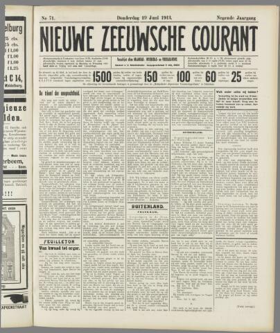 Nieuwe Zeeuwsche Courant 1913-06-19