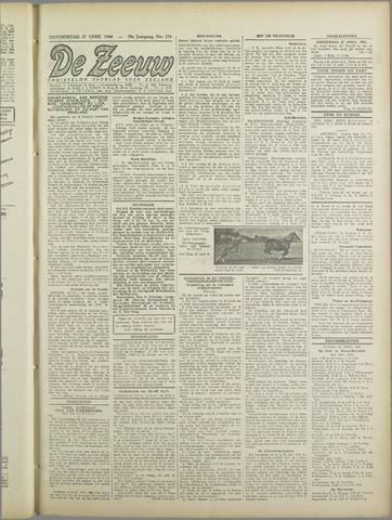 De Zeeuw. Christelijk-historisch nieuwsblad voor Zeeland 1944-04-27