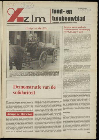 Zeeuwsch landbouwblad ... ZLM land- en tuinbouwblad 1982-04-02