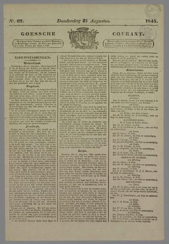 Goessche Courant 1845-08-21