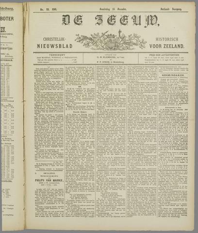 De Zeeuw. Christelijk-historisch nieuwsblad voor Zeeland 1898-12-15