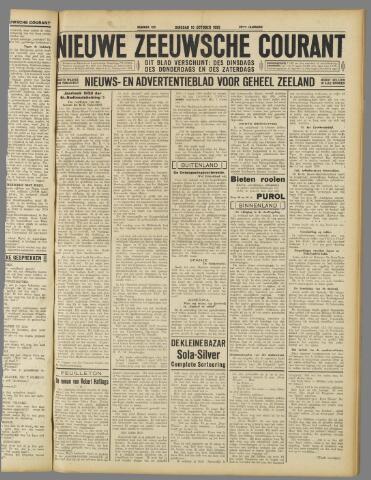 Nieuwe Zeeuwsche Courant 1933-10-10