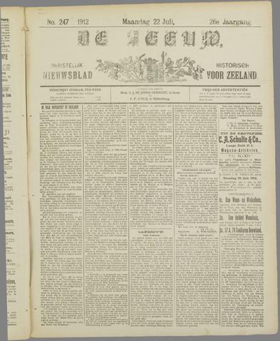 De Zeeuw. Christelijk-historisch nieuwsblad voor Zeeland 1912-07-22