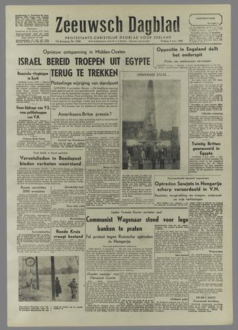 Zeeuwsch Dagblad 1956-11-09