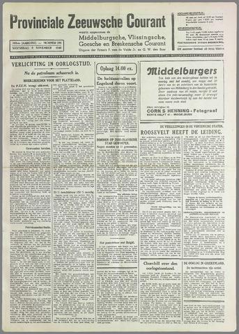 Provinciale Zeeuwse Courant 1940-11-06