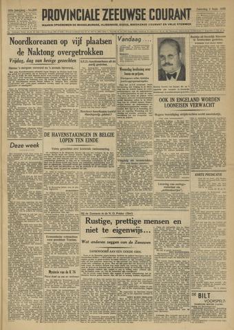 Provinciale Zeeuwse Courant 1950-09-02