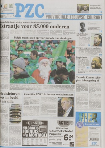 Provinciale Zeeuwse Courant 2004-12-22