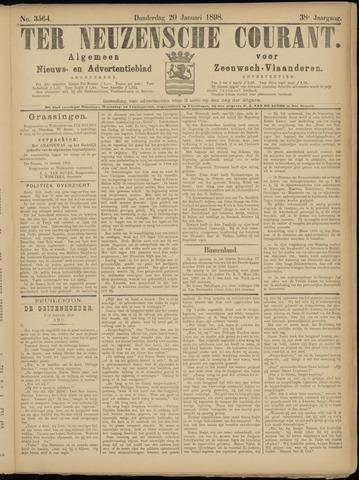 Ter Neuzensche Courant. Algemeen Nieuws- en Advertentieblad voor Zeeuwsch-Vlaanderen / Neuzensche Courant ... (idem) / (Algemeen) nieuws en advertentieblad voor Zeeuwsch-Vlaanderen 1898-01-20