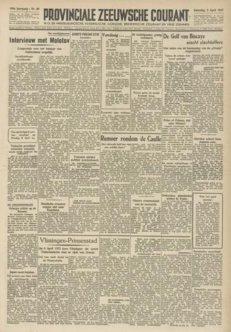 Provinciale Zeeuwse Courant 1947-04-05