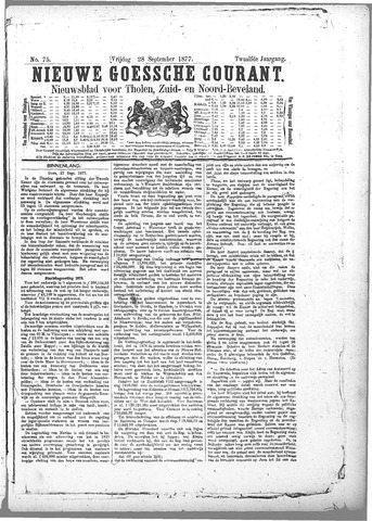 Nieuwe Goessche Courant 1877-09-28
