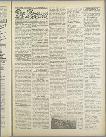 De Zeeuw. Christelijk-historisch nieuwsblad voor Zeeland 1944-04-06