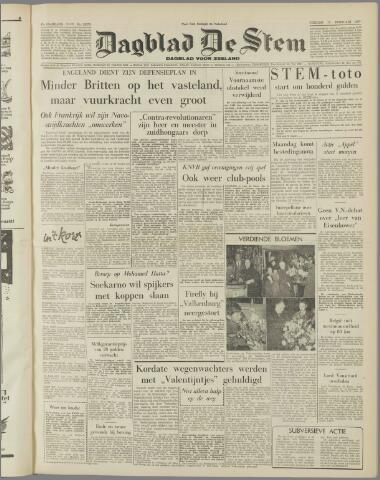 de Stem 1957-02-15