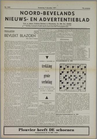 Noord-Bevelands Nieuws- en advertentieblad 1971-12-09
