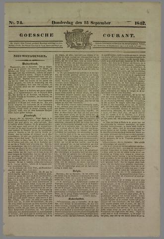 Goessche Courant 1842-09-15