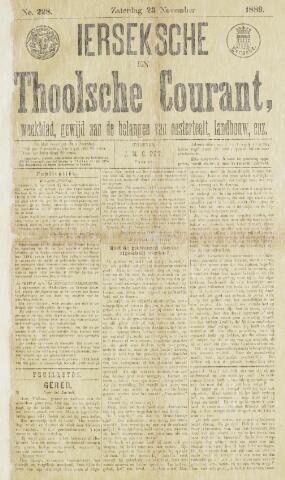 Ierseksche en Thoolsche Courant 1889-11-23