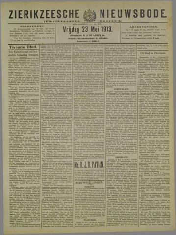 Zierikzeesche Nieuwsbode 1913-05-23