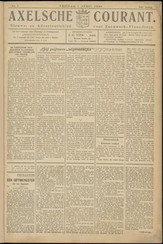 Axelsche Courant 1938-04-01